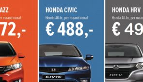 Honda Private Lease