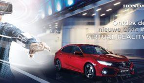 Ontdek de nieuwe Honda Civic in VR!