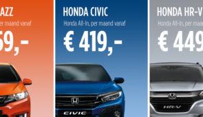 Honda Private Lease