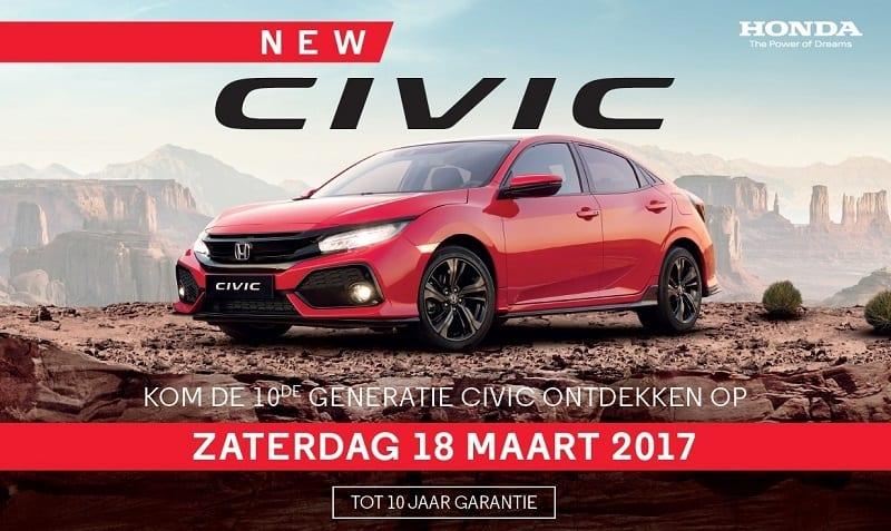 De nieuwe Honda Civic