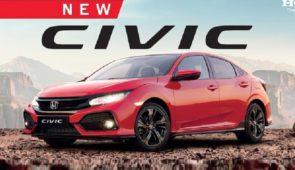De nieuwe Honda Civic 18 maart in onze showrooms!