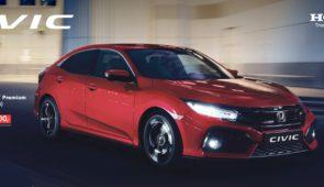 De nieuwe Honda Civic, nu met €3000,- korting op de Premium-uitvoering!