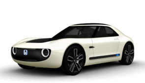 Honda Sports EV Concept: voor de show