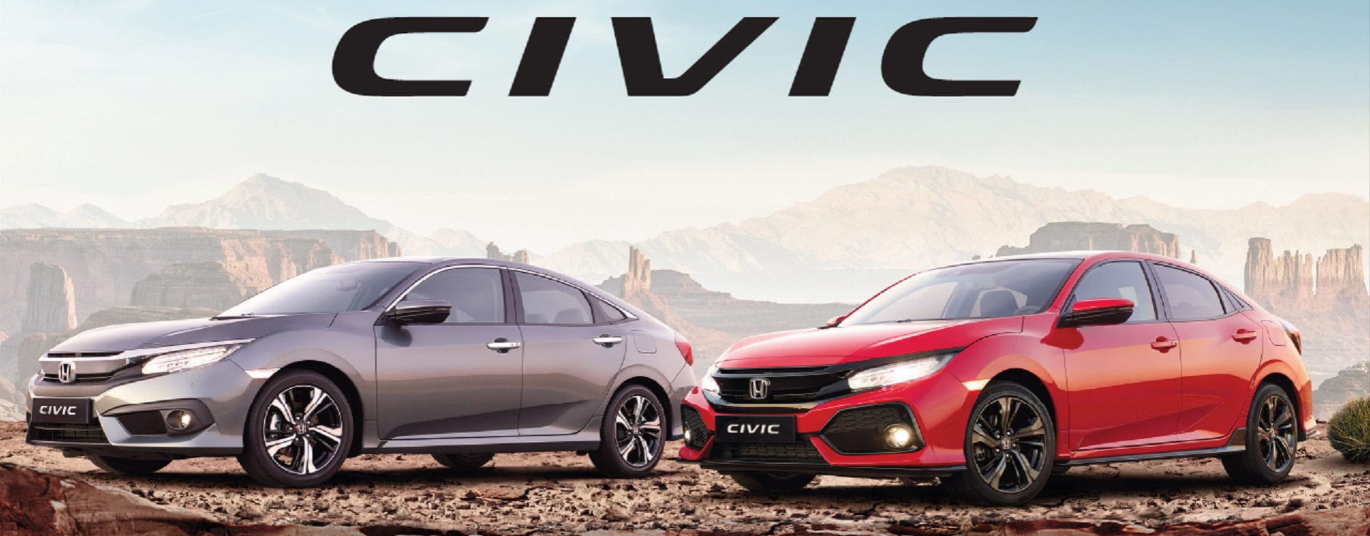 De nieuwe Honda Civic 4-deurs en 5-deurs