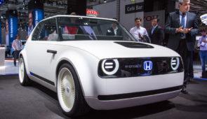 Elektrische Honda eind 2019 op de markt