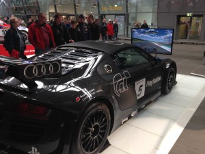 Audi R8 race-simulator