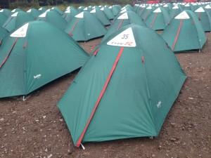 7 Twee nachten in een tent Wel voor de Honda Experience!