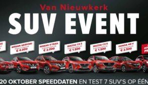 SUV Speeddate Event - 20 oktober