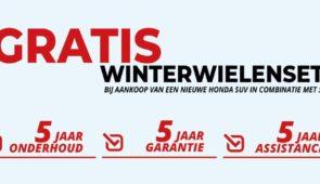 Winteractie: Gratis set winterwielen bij Honda SUV