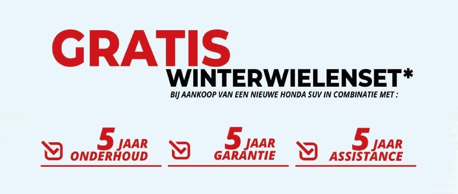 Honda Winterkit Actie