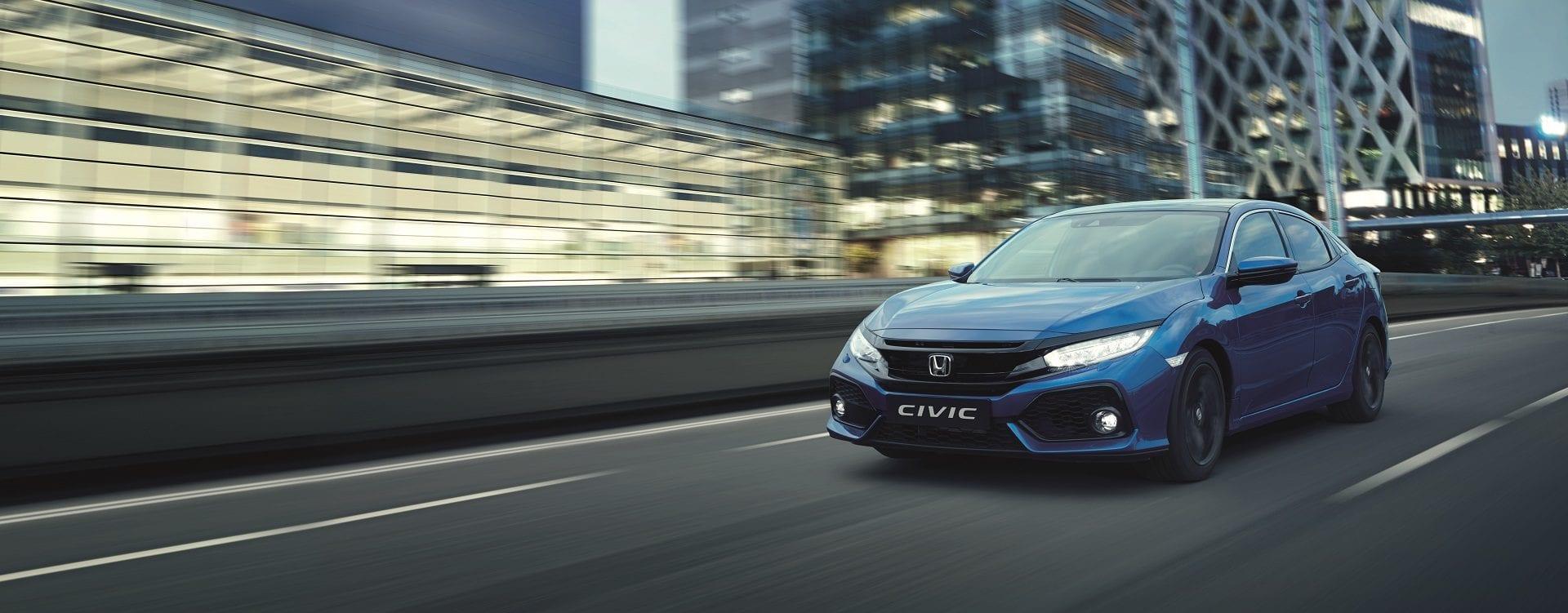 De Honda Civic 5-deurs Hatchback