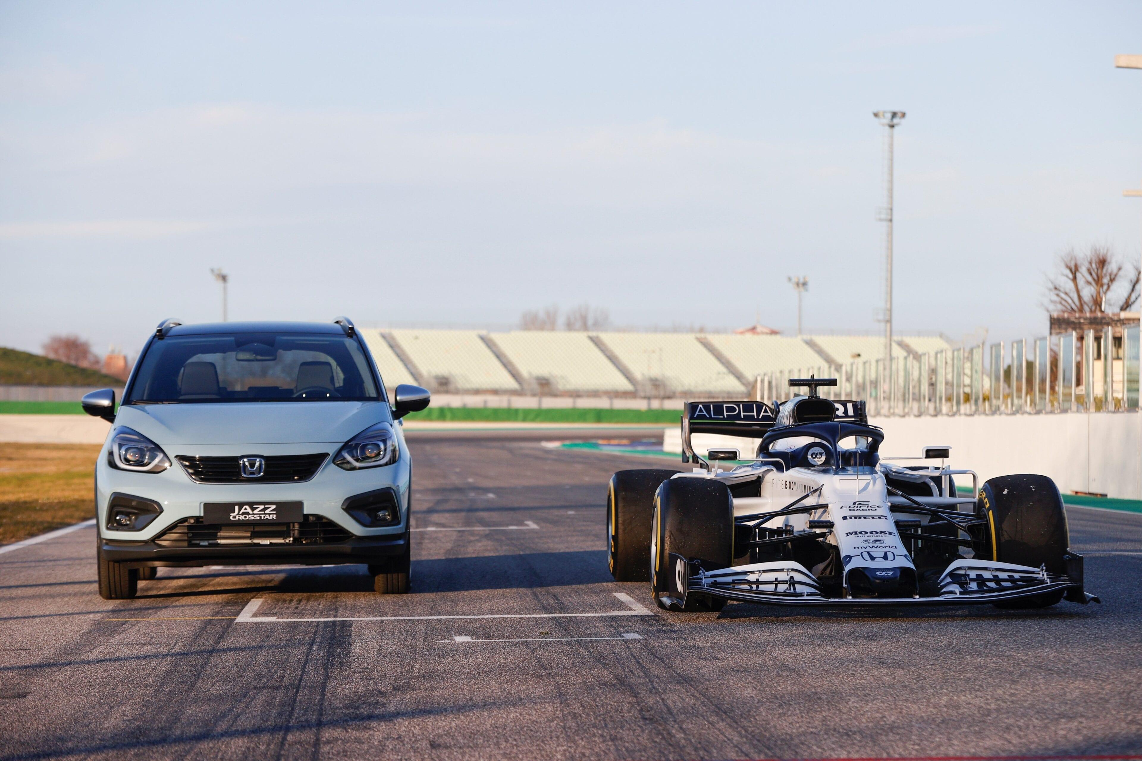 Het e:HEV-hybridesysteem is geïnspireerd door Honda's hybride prestaties uit de Formule 1