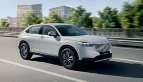 VIP Onthulling nieuwe Honda HR-V Hybrid